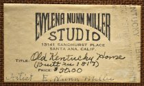 Image of Evylena Nunn Miller Studio label