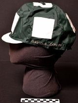 Image of KM2015.19.10 - Ironwood Farm jockey cap