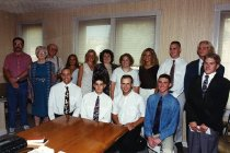 Image of Glenn Wells Family & Students - Unknown
