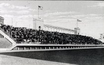 Image of Colonnade and Stadium - Unknown
