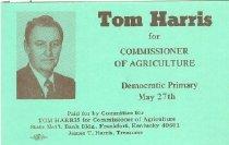 Image of Committe for Walter Baker