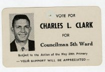 Image of Vote for Charles L. Clark  -