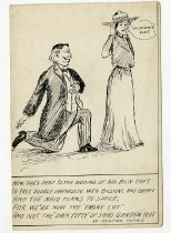 Image of Taft Wooing Canada  -