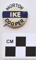 Image of 2001.17.13 - Ike, Morton, and Cooper political button