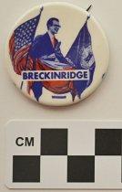 Image of 2001.17.3 - John B. Breckinridge political button