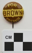 Image of 2001.17.4 - John Y. Brown, Sr., political button
