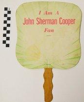 Image of 2001.17.6 - John Sherman Cooper fan