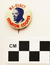 Image of 2001.17.7 - John Sherman Cooper political button