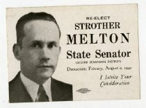 Image of Re-Elect Strother Melton  -