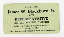 Image of Vote for James W. Blackburn, Jr.  -