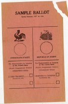 Image of Sample Ballot  -