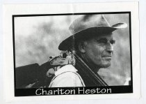 Image of Charlton Heston  - Committe for Walter Baker