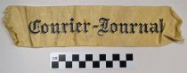 Image of KM2016.11.3 - Courier Journal Arm Band