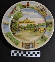 Image of Beech Bend Park souvenir plate