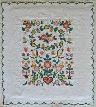 Image of Provincial Quilt - Quilt, Bed