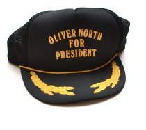 Image of KM2016.24.1 - Oliver North for President cap