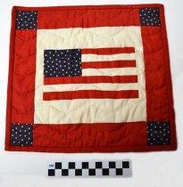 Image of KM2016.22.2 - Flag wall hanging