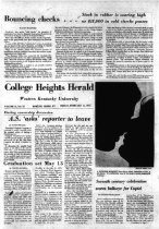Image of College Heights Herald - Student Affairs (WKU)