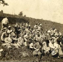 Image of WKU Students at Mammoth Cave - Unknown