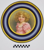 Image of 1982.27.1 - Chromolithograph of a young girl