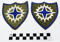 Image of 2003.122.2 - U.S. 16th Army Corps unit shoulder patch