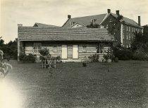 Image of Pioneer Log Cabin - Lowe, William Herman, 1897-1987