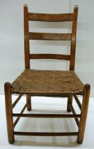 Image of 1938.7.47 - ladder-back chair