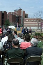 Image of Mass Media & Technology Hall Groundbreaking - Lewis, Clinton