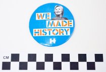 Image of KM2016.49.1 - Hillary Clinton political button
