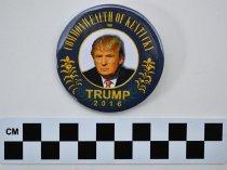 Image of Trump political button - Button, Political