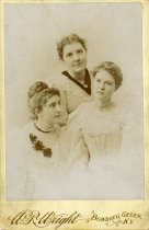 Image of Potter College Students/Teachers - Wright, W. R.