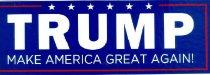 Image of TRUMP make America Great Again! [bumper sticker] -