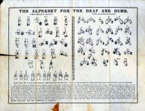 Image of Alphabet for the Deaf and Dumb -