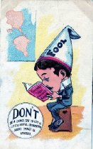 Image of Don't Be A Dunce