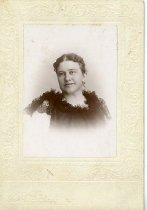 Image of Woman in Lace Dress - Wallin, Charles E.