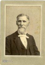 Image of Older Man in High Collar Shirt - Wallin, Charles E.