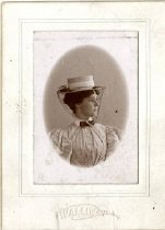 Image of Woman with Netting and Hat - Wallin, Charles E.