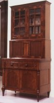 Image of Sheraton secretary bookcase - Secretary