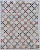 Image of Nine Patch Quilt - Quilt, Bed