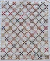 Image of Nine Patch Irish Chain Quilt