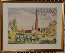 Image of WKU Central Heating Plant - Painting