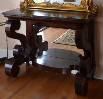 Image of pier table with mirror - Table, Pier
