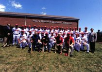 Image of Gary Ransdell & Baseball Team - Unknown