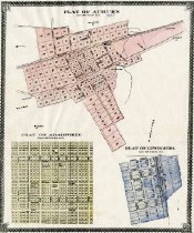 Image of Plat of Auburn, Adairville and Lewisburg -