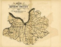 Image of Map of Daviess County, KY -