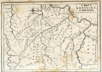 Image of Map of Kentucky -