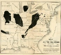Image of Coal Mines Known to Exist in the United States  -