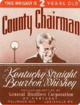 Image of County Chairman Kentucky Straight Bourbon Whiskey -