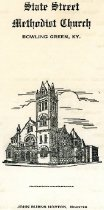 Image of State Street Methodist Church [worship program] -