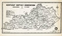 Image of Kentucky Baptist Convention Associations and Regions -